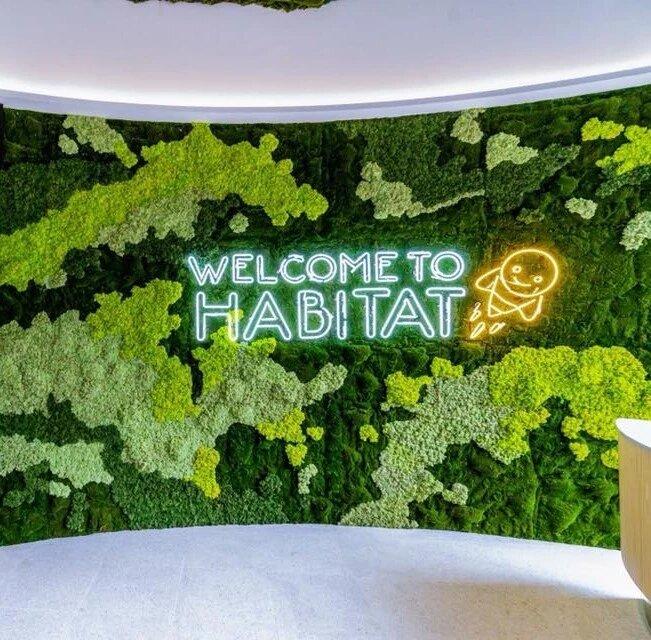 Honestbee Habitat Moss Wall Singapore