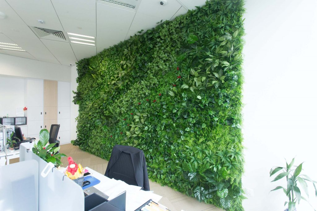 artificial green wall singapore