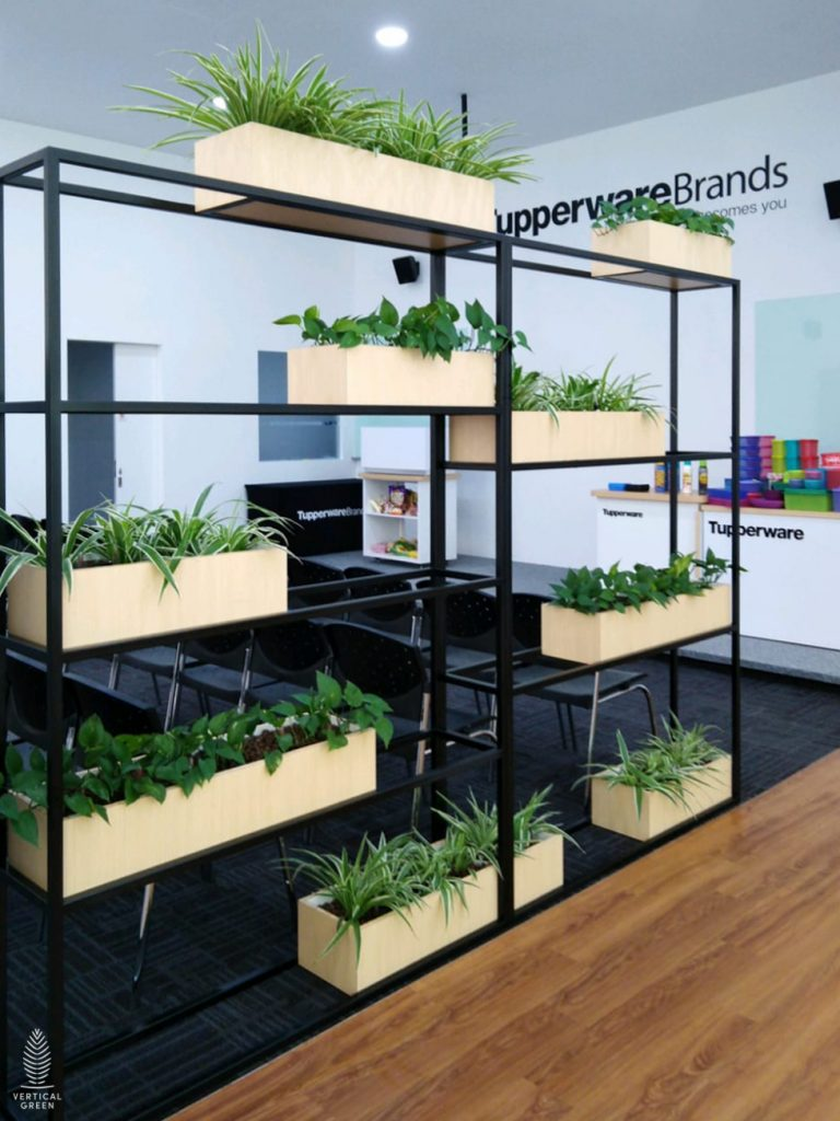 Trend Micro Office Singapore Planter by Sofa