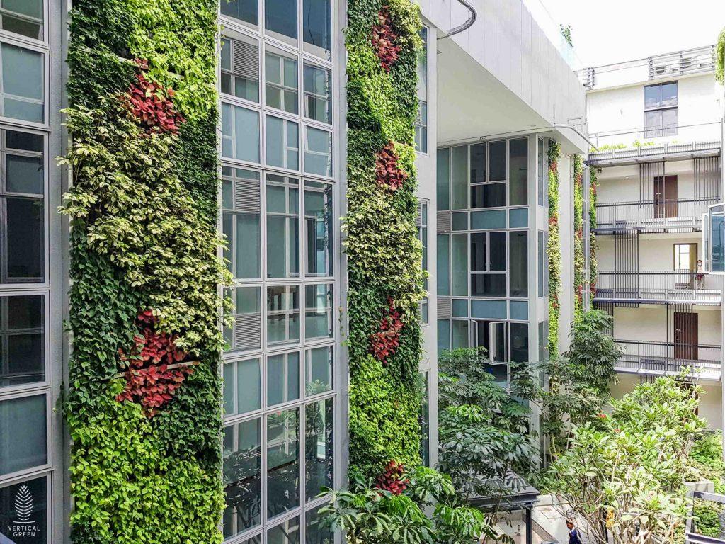 bijou condo green wall singapore