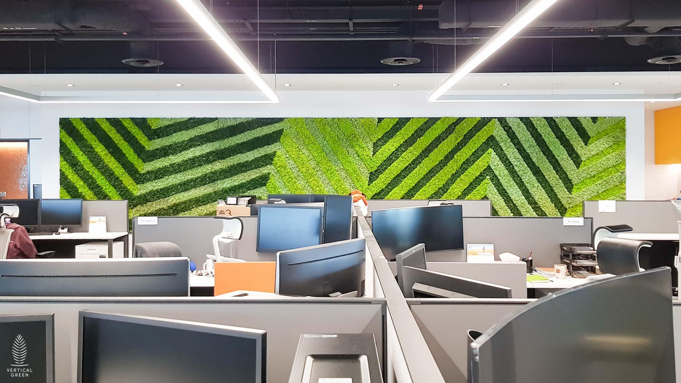 Huawei Office Moss Wall Singapore