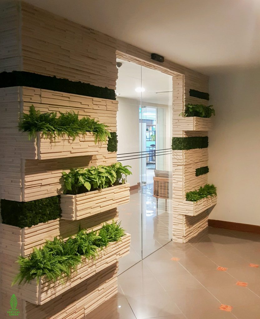 integrated planter entrance office singapore