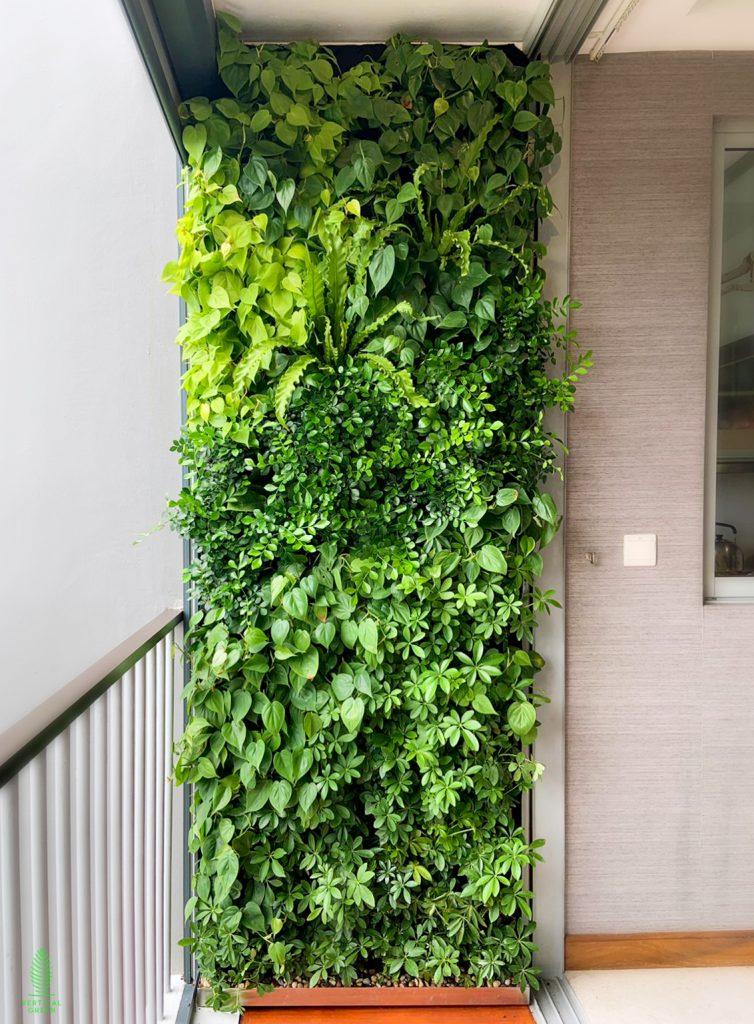 Green wall Lorong H Telok Kurau Singapore
