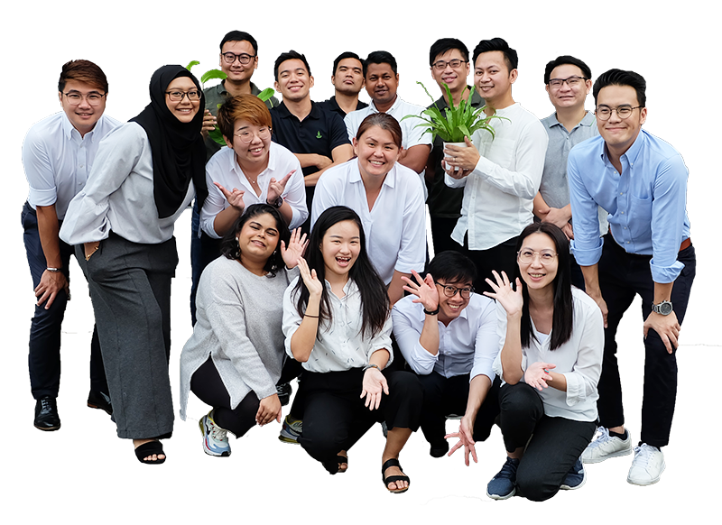 Vertical Green Office team Singapore