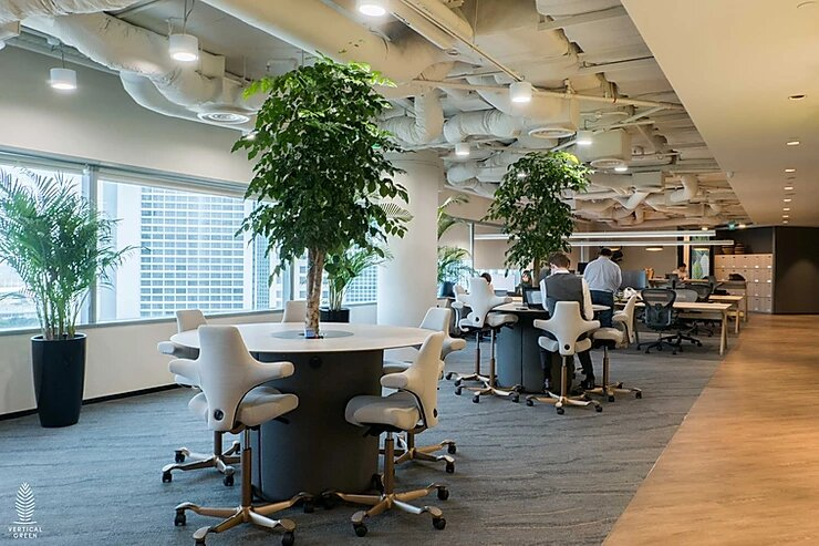 Greenery Design in Trend Micro Office Singapore