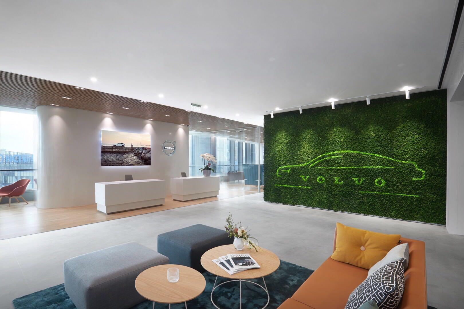 beautiful moss wall design china singapore
