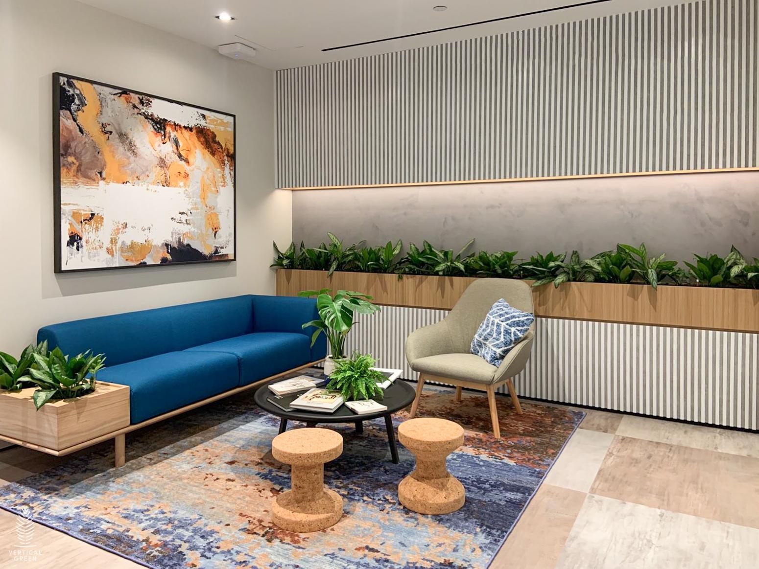 Potted plants Roche office Singapore-@-PLQ