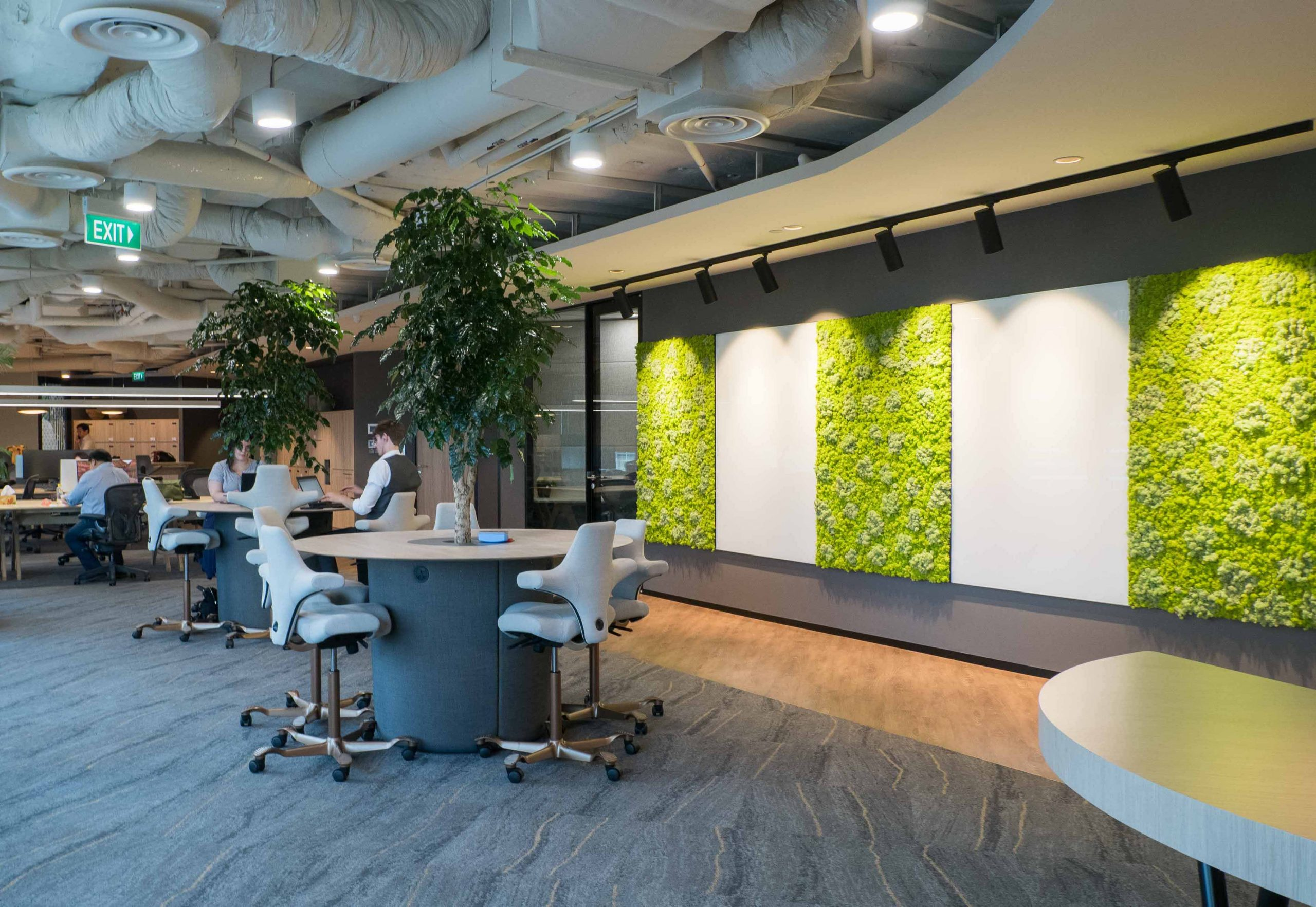 green office acoustic panel