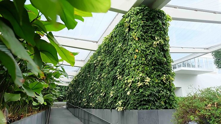 green wall condominium singapore design