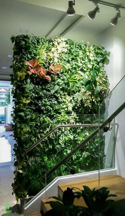 green wall homes Singapore