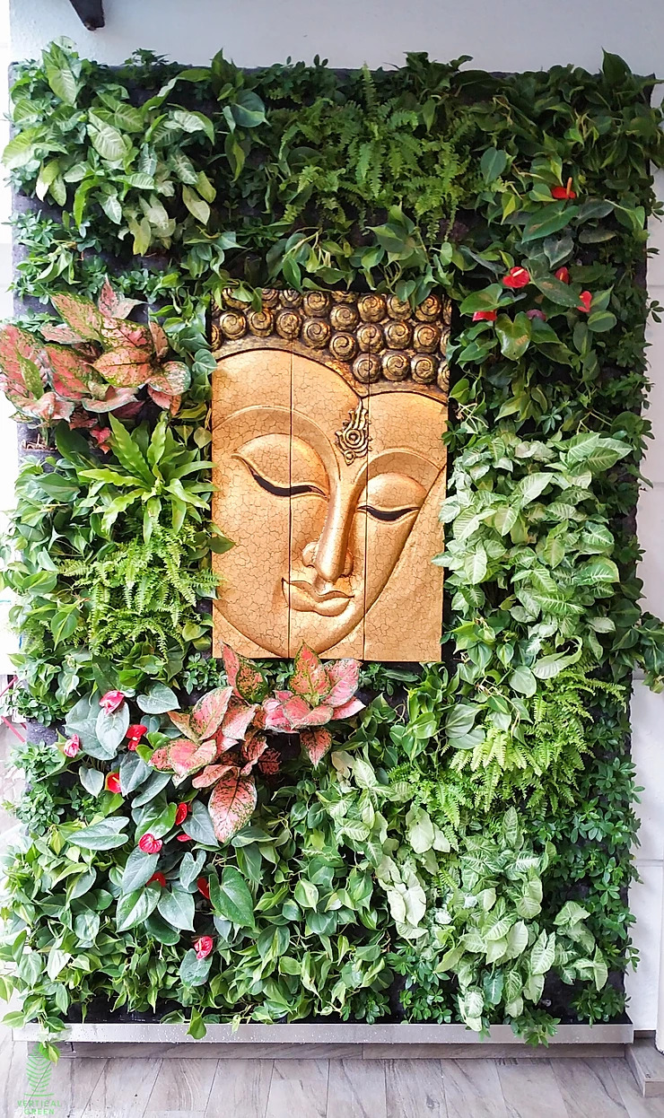 green wall singapore homes