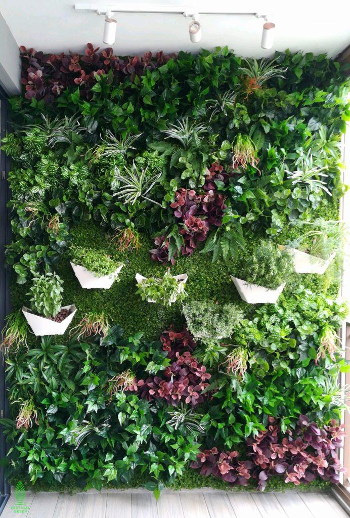 origami pots home balcony herbs