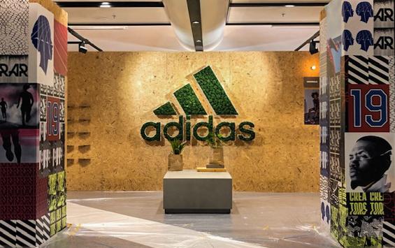 Adidas Moss wall singapore