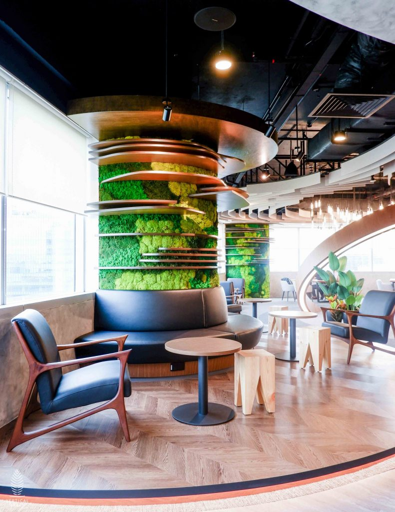 moss wall BD singapore office