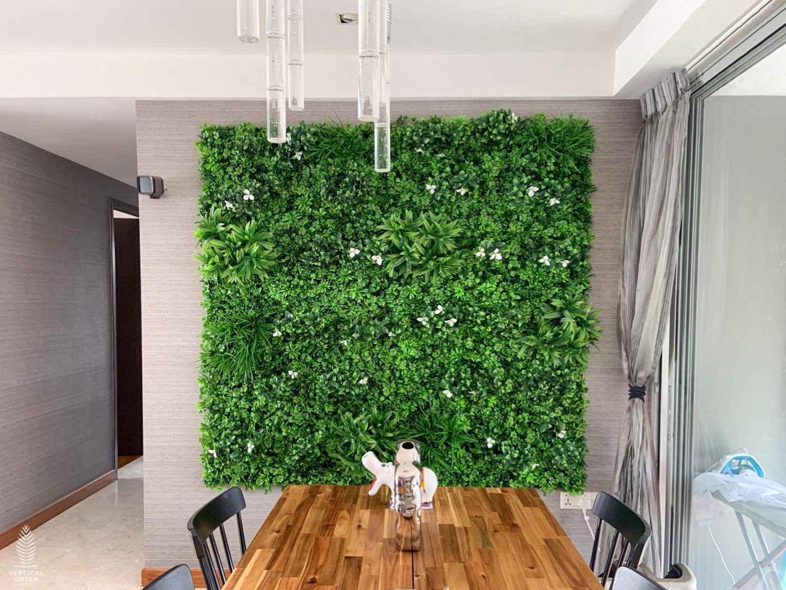 artificial green wall singapore